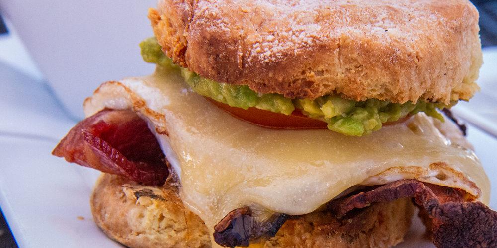egg biscuit sandwich spokane brunch