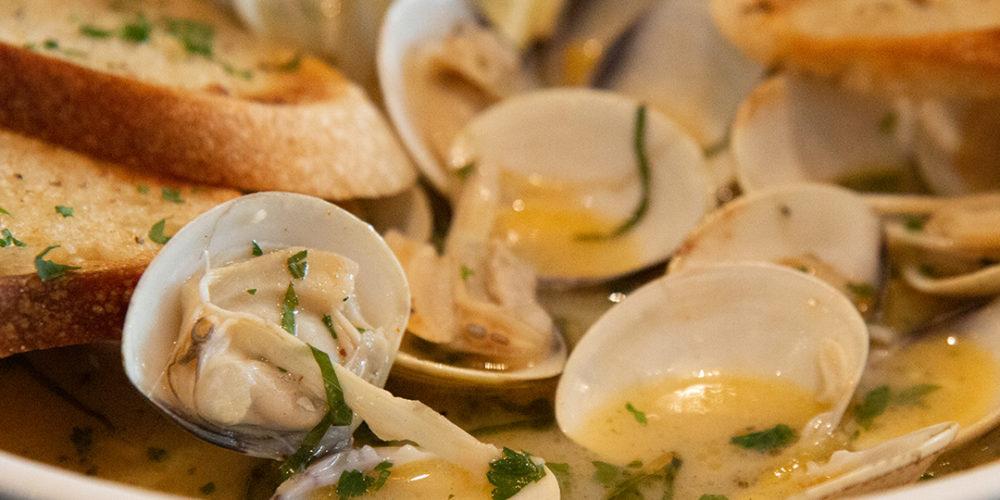 drunken clam appetizer spokane