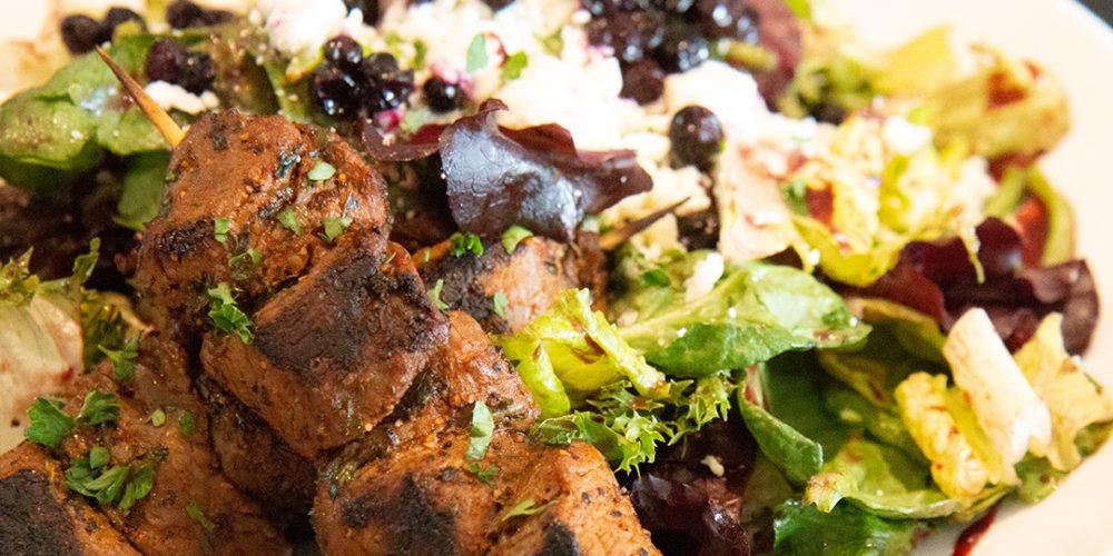 steak salad spokane restaurant