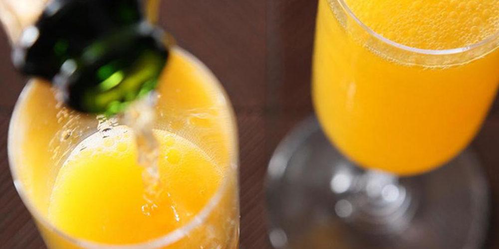 bottomless mimosas